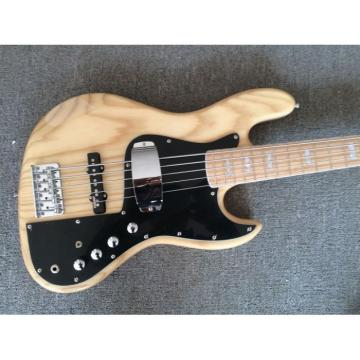 Custom Shop Fender Marcus Miller Signature Jazz Bass Premium Ash Body 5 String