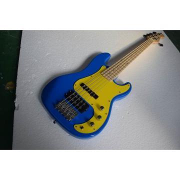 Custom Shop Blue Precision Bass Gold Pickguard Wilkinson Parts