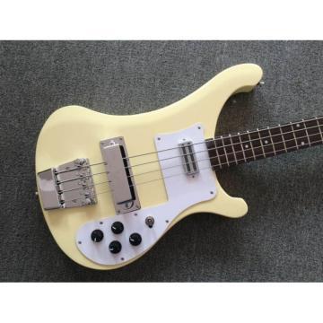Custom Shop Cream 4 String Rickenbacker 4001 Bass