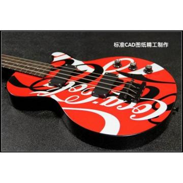 Custom Shop Coca Cola 4 String Bass