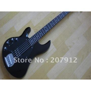 Custom Shop Black Music Man StingRay 5 Left Bass