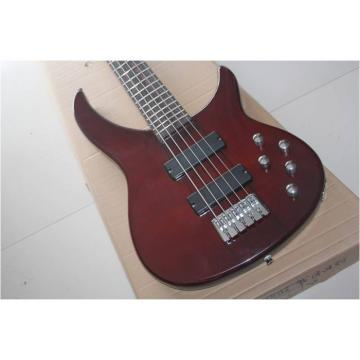 Custom Shop Burgundyglo Peavey Cirrus 5 String Bass