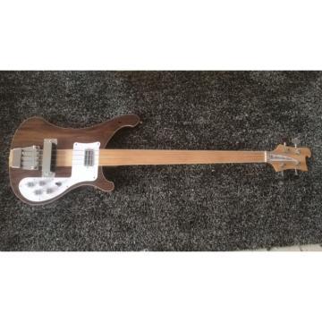 Custom Shop 4003 Walnut Wood Naturalglo Fretless Bass