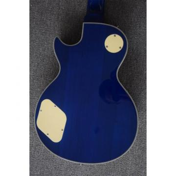 Custom Shop Ace Frehley Blue LP Quilted Maple Top 4 String Bass