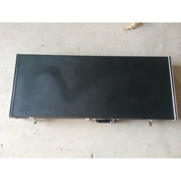 Custom Shop 4005 Rickenbacker Natural Semi Hollow Bass Checkerboard Bindings