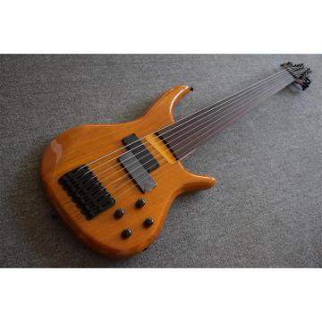 Custom Shop 7 String Fretless H & S Bass