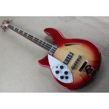 Custom Shop 4005 Rickenbacker Left Handed Fireglo Semi Hollow Bass