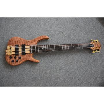Custom Shop 6 String 24 Frets Electric Bass