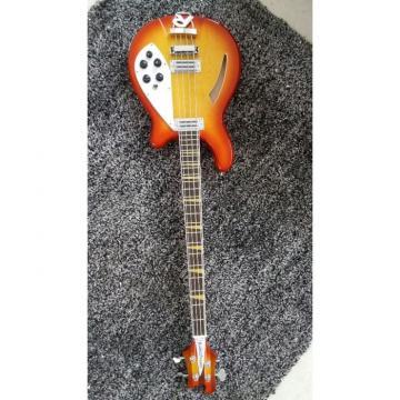 Custom Shop 4005 Rickenbacker Fireglo 22 Frets Semi Hollow Electric Bass
