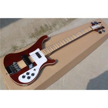 Custom Shop 4003 Red Brown Neck Thru Body Construction Bass