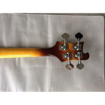 Custom Shop 4003 Neck Thru Body Construction Tobacco Sunburst Bass