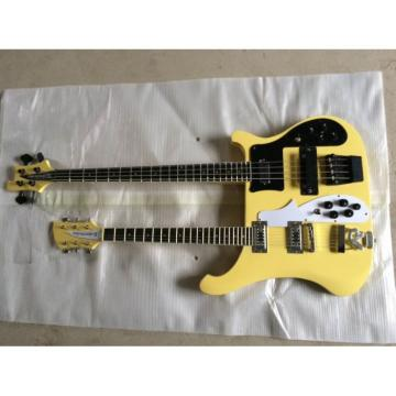 Custom Shop 4003 Double Neck Yellow Bass