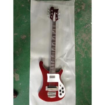 Custom Shop 4003 BurgundyGlo Color 5 String Bass