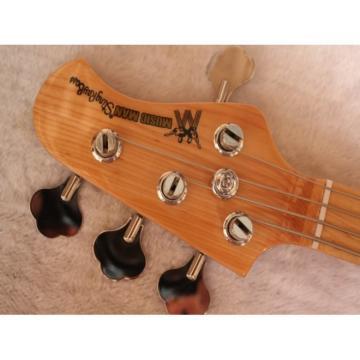 Custom Shop 2 Pickups MusicMan Natural 5 Strings Bass