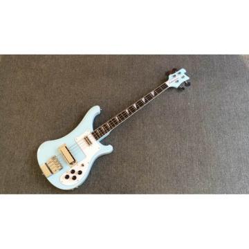 Custom Rickenbacker 4003 Sky Blue Neck Through Bass