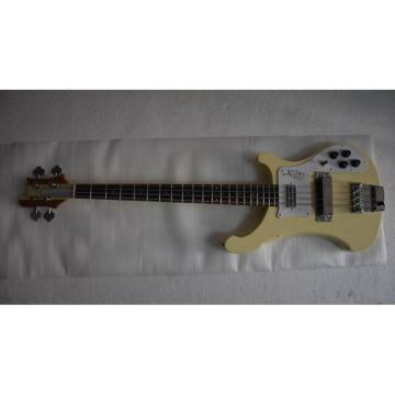 Custom Shop 4001 CS 1997 Arctic White Chris Squire Bass Neck Through