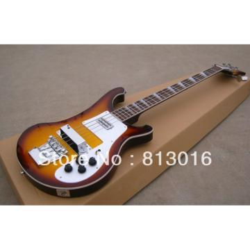 Custom Rickenbacker 4001 Tobacco Burst Bass