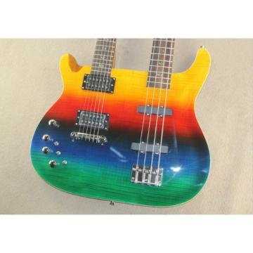 Custom PRS Double Neck 6 String Guitar PRS Al Di Meola Prism Passive Pickups 4 String Bass