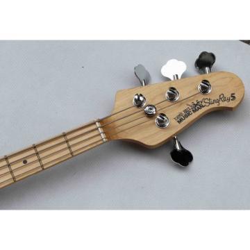 Custom Music Man Red 5 String Ernie Bass