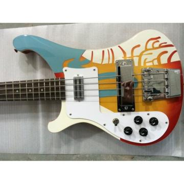Custom Paul McCartney's 1964 4003 Fireglo Left Handed Bass