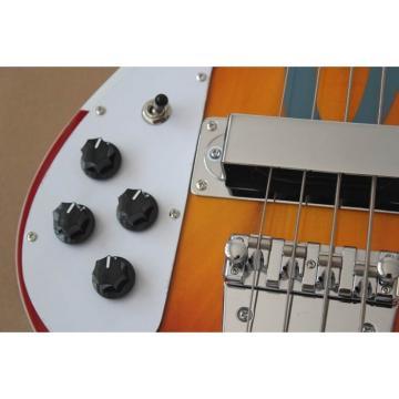 Custom Paul McCartney's 1964 4003 Fireglo Left Handed Bass