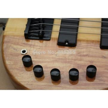 Custom One Piece Neck Active Pickups Warwick 5 Strings Bass