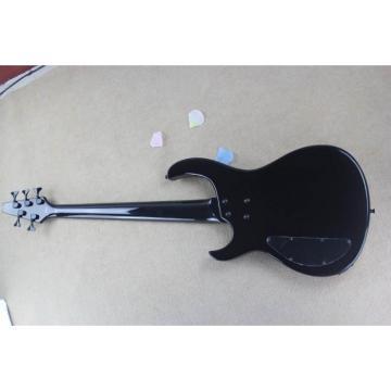 Custom Modulus Quantum 5 Quilted Maple Top 5 String Bass Sunburst