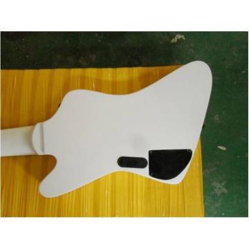 Custom Made White 7 String Electric Bass