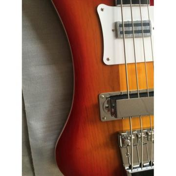 Custom Made Fireglo Sunburst Cherry 4003 Bass