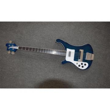 Custom Made Left Handed Midnight Blue 4003 Bass Alder Body No Inlay