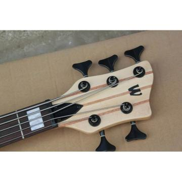 Custom LTD Corvette 5 Strings Dark Brown Electric Bass