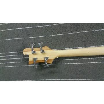 Custom Lemmy Kilmister  Rickenbacker 4003 Natural Finish Special Carvings Bass