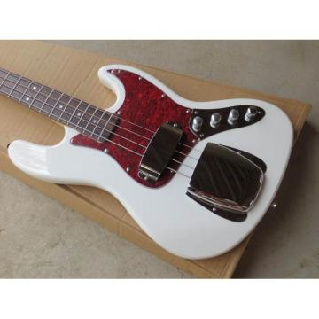 Custom Fender Jazz Bass Alpine White Color