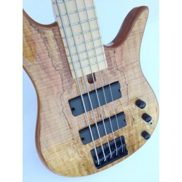 Custom Fordera 5 String Solid Maple Bass