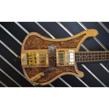 Custom Design Lemmy Kilmister  4003 Natural Bass
