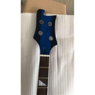 Custom Built Paul Mccartney Unfinished 4003 Blue 4 String Bass