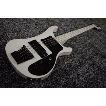Custom 4003 White Body and Fretboard Rickenbacker Electric Bass
