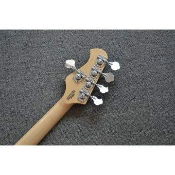 Custom Black Music Man Sting Ray 5 Bass 9 V Battery Passive Pickups