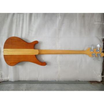 Custom 4003 Neck Thru Body Construction 4 String Bass Naturalglo