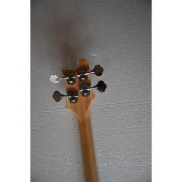 Custom Alder Wood Natural Glow Checkerboard Binding 4003 Bass