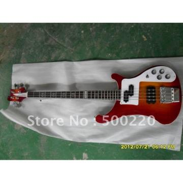 Custom 4003 Fireglo Rickenbacker Red Burst Bass