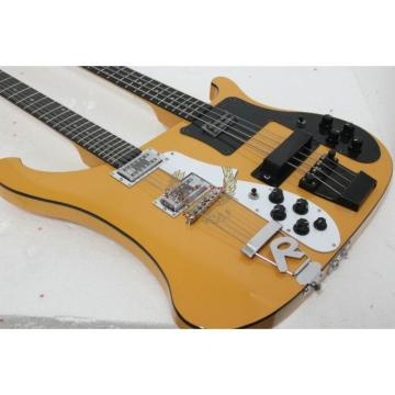 Custom 4003 Double Neck Rickenbacker Natural Bass