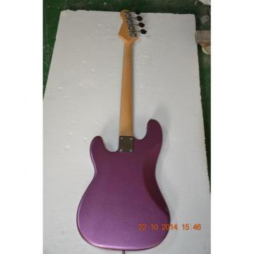 Custom Shop Sparkle Purple Jazz Silver Dust Metallic P Bass Guitar