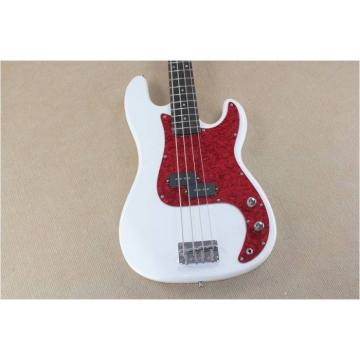 Custom Shop White Jazz Bass Wilkinson Parts