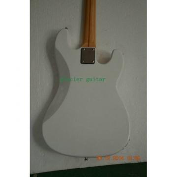 Custom Shop White 4 String Left Handed P Bass