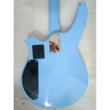 Custom  Bongo Music Man Sky Blue 4/5 String Passive Pickups Bass
