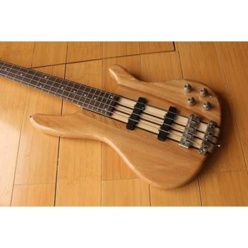 Custom Shop Languedoc 4 String Bass Natural Neck Through Body