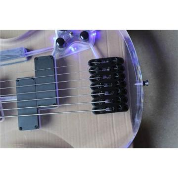 Custom Shop H&S Sequoia 7 String Acrylic LED Bass