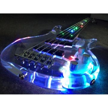 Custom Shop H&S Sequoia 5 String Bass Acrylic LED