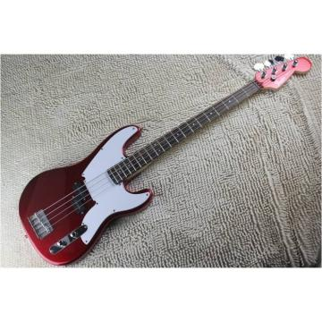 Custom Shop Metallic Red 4 String Precision Bass